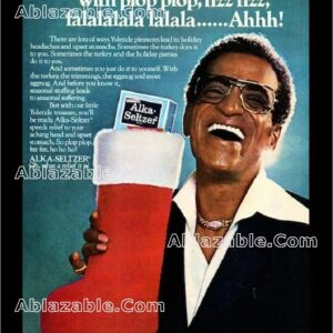 Deck The Halls Sammy Davis Jr. Alka-Seltzer Ad 1979 with watermark