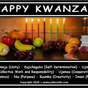 Happy Kwanzaa 9 Principles